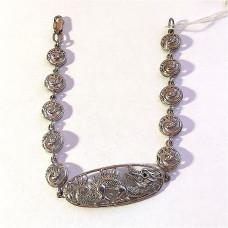 Браслет из серебра с фианитами арт. 5113-256