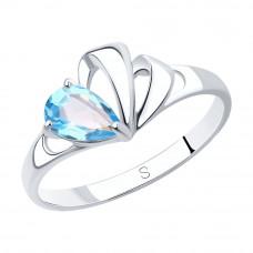 Кольцо из серебра с топазом арт. 92011581