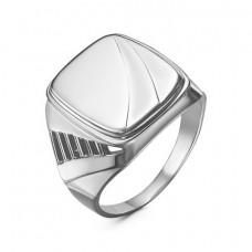 Печатка мужская из серебра без вставки арт. 2301164