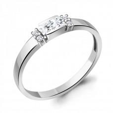 Кольцо из серебра с фианитами арт. 68697А.5