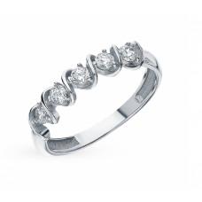 Кольцо из серебра с фианитами арт. 68706А.5