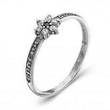 Кольцо из серебра с фианитами арт. 2387618