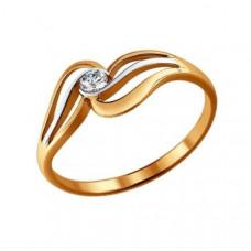 Кольцо из золота с бриллиантами арт.1010637