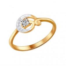 Кольцо из золота с бриллиантами арт.1010694