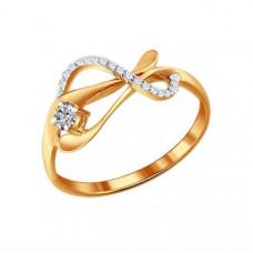 Кольцо из золота с бриллиантами арт.1010909