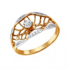 Кольцо из золота с бриллиантами арт.1010963