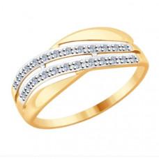 Кольцо из золота с бриллиантами арт.51-210-00006-1