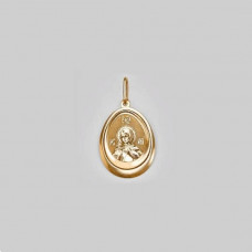 Иконка Святая Великомученица Марина из золота арт.03-1882-07-000-1110-42