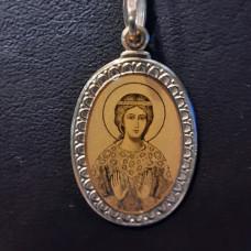 Иконка Святая мученица Надежда из золота арт.100989