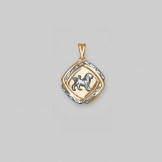 Подвеска «Лев» из золота без вставки арт.03-2134-04-000-1111-01