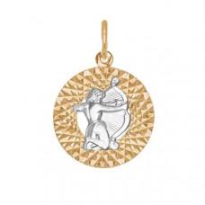 Подвеска «Стрелец» из золота без вставки арт.031385