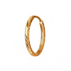 Серьга из золота без вставки арт.170002