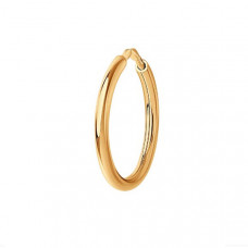 Серьга конго из золота без вставки арт.170001
